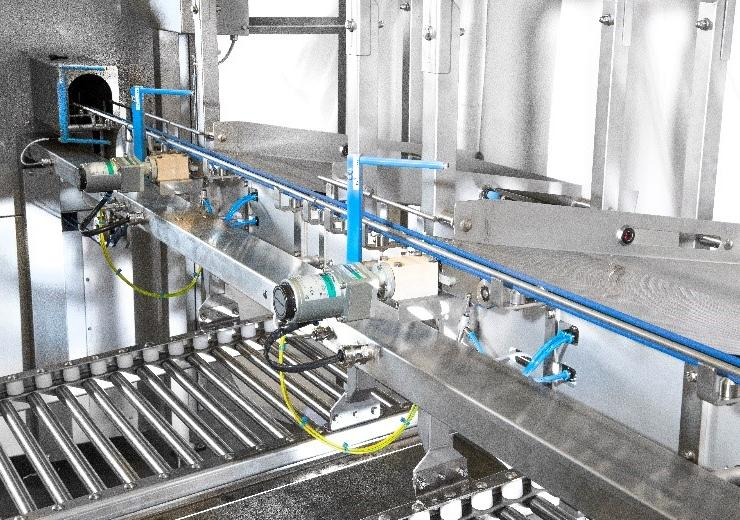 Automated sorting line 4.0 by Sanders Machinebouw